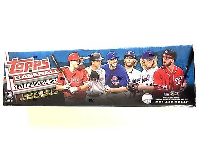 2017 TOPPS BASEBALL COMPLETE 705 CARD FACTORY SET