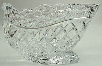 Marquis by Waterford Crystal Holiday Sleigh Centerpiece NEW IN BOX