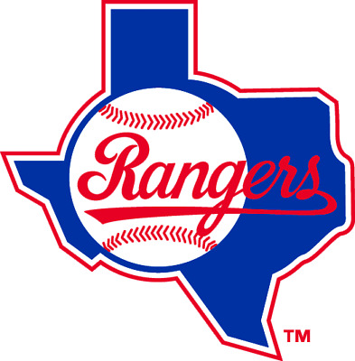 Texas Rangers MLB Color Die-Cut Decal  Sticker Free Shipping