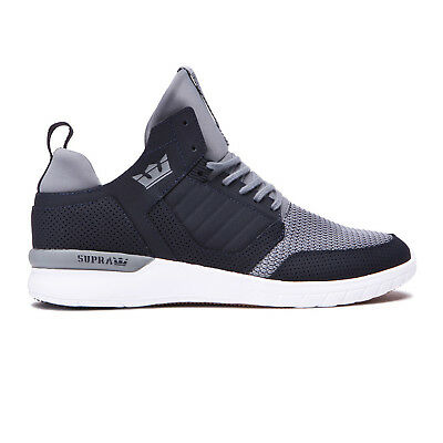 Supra Skateboard Shoes Method Dark Grey-White