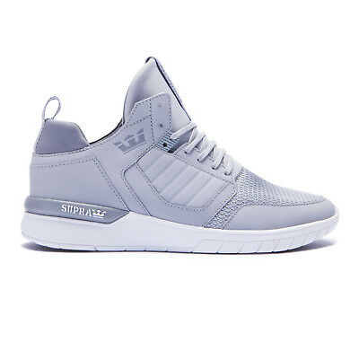 Supra Skateboard Shoes Method Light Grey-White
