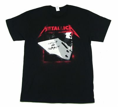 Metallica Lords Of Summer Chicago 2015 T Shirt New Official Lollapalooza Show