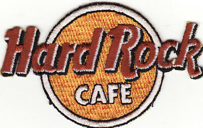 Hard Rock Cafe Embroidered Iron On Music Patch New