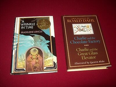 A Wrinkle in Time by Madeleine Lengle  Charlie and the Chocolate Factory