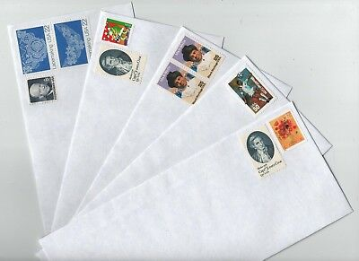 600 PRE STAMPED-50 cent VINTAGE POSTAGE 10 PULL- SEAL PRIVACY TINT ENVELOPES