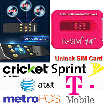 Heicard Turbo Unlock Sim Card for Sprint Tmobile ATT iPhone 11XSX876 iOS 13