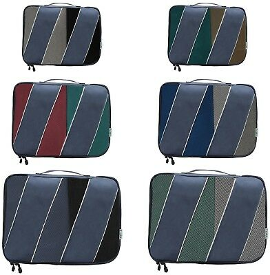Set of 6 Packing Cubes for Luggage Optimization  Multiple Sizes-  by Velette