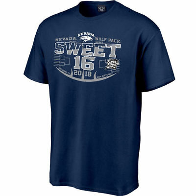 Nevada Wolf Pack 2018 NCAA Mens Basketball Tournament March Madness Sweet 16