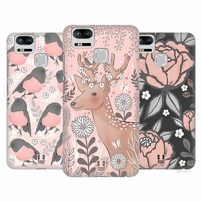 HEAD CASE DESIGNS BLUSH GARDEN HARD BACK CASE FOR ASUS ZENFONE PHONES