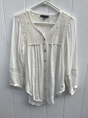 EUC Women's American Eagle Outfitters Blouse Size Small