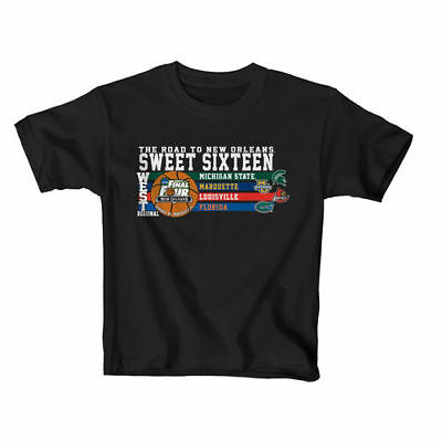 College Basketball 2012 NCAA West Regional Sweet Sixteen Youth T-Shirt