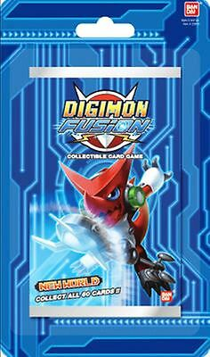 DIGIMON FUSION CCG NEW WORLD BOOSTER PACK
