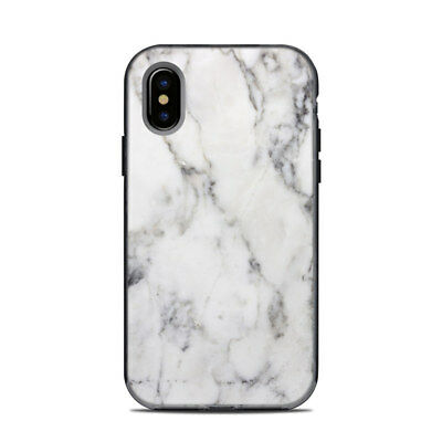 Skin for LifeProof NEXT iPhone X - White Marble - Sticker Decal