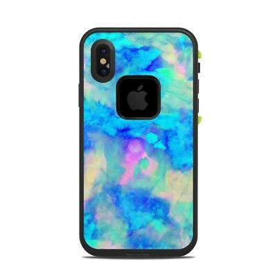 Skin for LifeProof FRE iPhone X - Electrify Ice Blue by Amy Sia - Sticker Decal