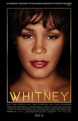 Whitney - original DS movie poster - 27x40 DS Whitney Houston