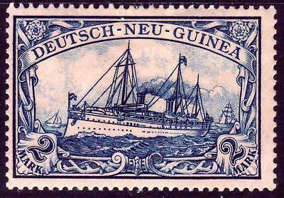 NEW GUINEA GERMAN COLONY Mi- 17 mint Kaiser Yacht stamp