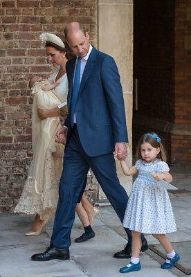 Kate Middleton Prince William Louis George Charlotte size 5x7 Photograph C10