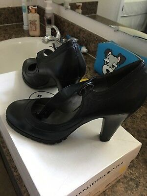 steve madden leather heels