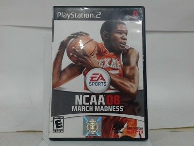 NCAA MARCH MADNESS 08 Playstation 2 PS2 Complete CIB w Box Manual Good