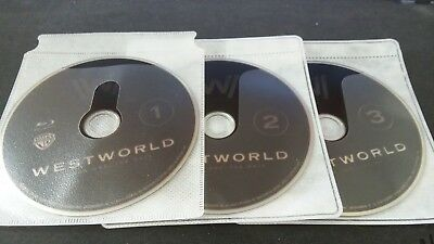 Westworld The Complete First Season Blu-ray Discs ONLY 2017