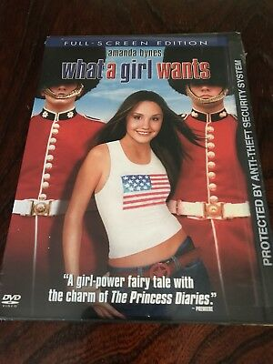 WHAT A GIRL WANTS AMANDA BYNES DVD NEW SEALED FREE SHIPPING