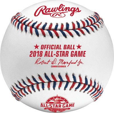 Rawlings 2018 All Star Official Game Baseball Washington Nationals Boxed