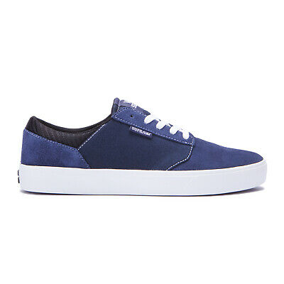 Supra Skateboard Shoes Yorek Low Navy-White