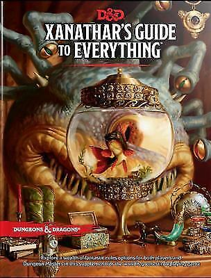Xanathars Guide to Everything by Wizards RPG Team 2017 Hardcover