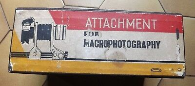 ATTACHMENT FOR MACROPHOTIGRAPHY.  1966.