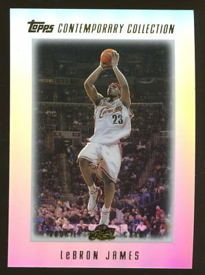 2003-04 Topps Contemporary 1 LeBron James Cavaliers RC Rookie