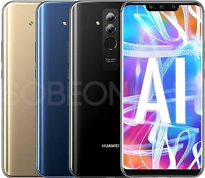New Huawei Mate 20 Lite LX3 64GB Factory Unlocked GSM 6-3 International Model