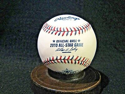 UNSIGNED 2010 Official MLB All-Star Game Baseball with Original Box