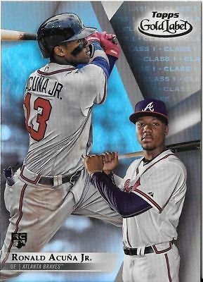 2018 TOPPS GOLD LABEL CLASS 1 BASE SINGLES W ROOKIE RC - PICK - COMPLETE SET
