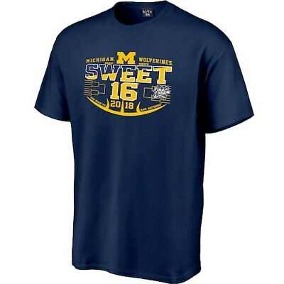 Michigan Wolverines 2018 NCAA Mens Basketball Tournament March Madness Sweet 16