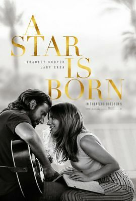 A Star Is Born - original DS movie poster 27x40 DS Advance - Lady Gaga  Cooper