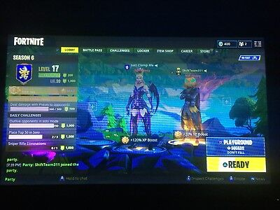 fortnite account ps4