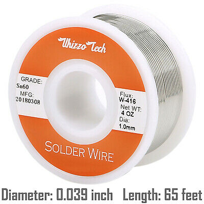 60-40 Tin Lead Rosin Core Solder Wire Soldering Sn60 Pb40 Flux -0391-0mm 50g