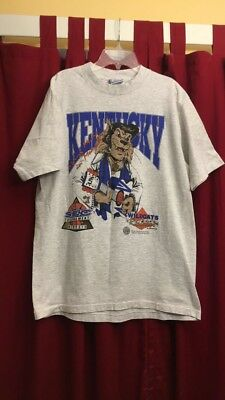 Vintage UK Wildcats SEC Tournament T Shirt 1994