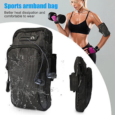 Sports Armband Running Jogging Gym Arm Band Pouch Bag Holder Case for Cell Phone