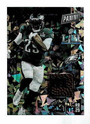 2018 Panini Black Friday LeGarrette Blunt Super Bowl Football Relic GU 55 SSP