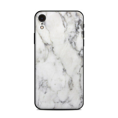 iPhone Xr Skin - White Marble - Sticker Decal