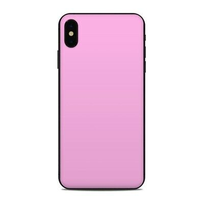 iPhone XS Max Skin - Solid Pink - Sticker Decal