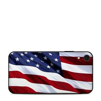 iPhone Xr Skin - Patriotic by Flags - Sticker Decal