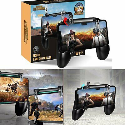 PUBG Fortnite W11- Mobile Phone Game Controller Gamepad Joystick Gaming Trigger