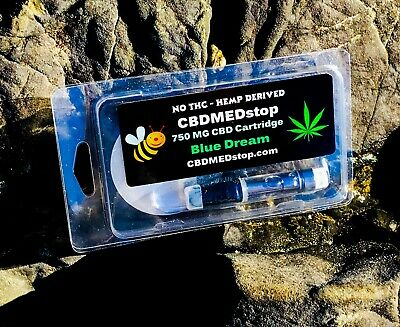 CBD1 Cartridge  750 MG 1 Ml Select Flavor