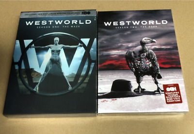 WestWorld the Complete 1st and 2nd Seasons 1 2 Bundle Set 12 DVD NEW US Seller