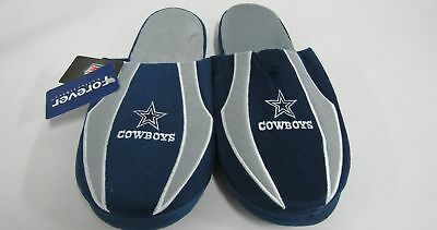 NFL Mens Slippers Dallas Cowboys Large 11-12