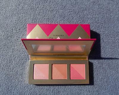 SEPHORA BLUSHING FOR YOU 6 BLUSH SHADES PALETTE ALWAYS AUTHENTIC