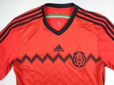 Adidas Mexico 2014 Mens M Away Soccer Football Jersey G74508 World Cup 90
