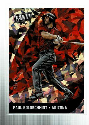 2018 Panini Black Friday Paul Goldschmidt Cracked Ice 2225 SSP RW